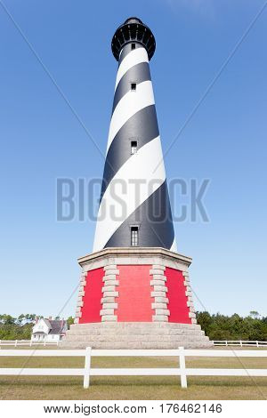 Cape Hatteras Lighthouse Outer Banks Buxton Nc Us