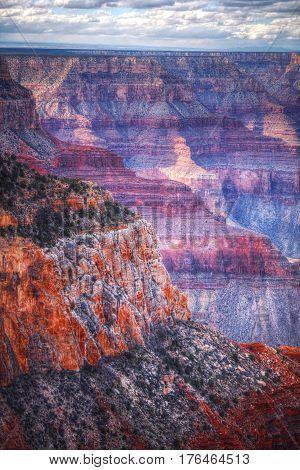 Amazing Sunrise Image Of The Grand Canyon