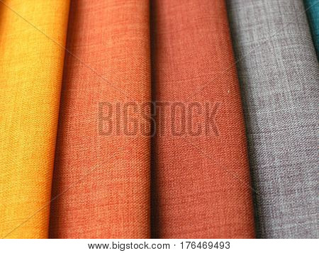 Variable Choice Of Colorful Fabrics