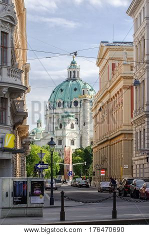 Hofburg Imperial Palace. Former Imperial Palace In The Centre Of Vienna, Austria. Built In The 13Th
