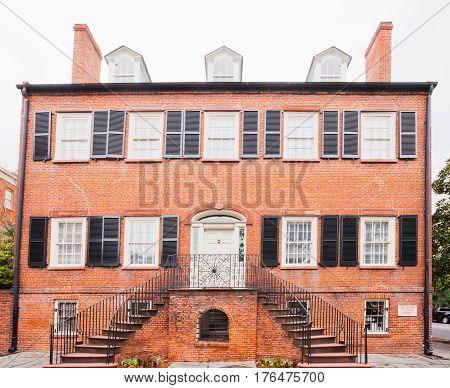 Isaiah Davenport House Museum Savannah Georgia Us