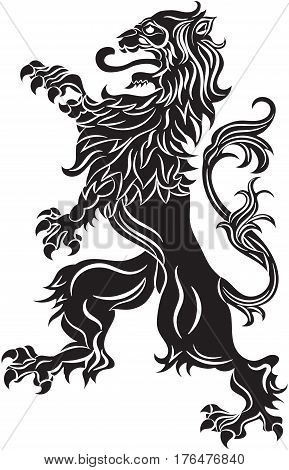 Rebels Lion Vector Photo Free Trial Bigstock