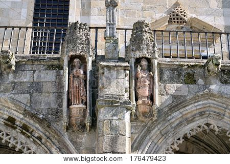 Churchyard Of The Cathedral Of Braga