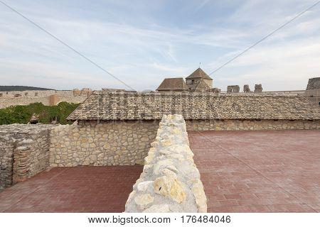 The fortress of Sumeg. Hungary. landmark. bastion