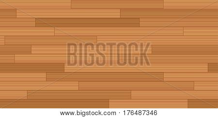 Plank floor parquet - vector illustration of vintage parquetry pattern with wooden texture - seamless extensible in all directions.