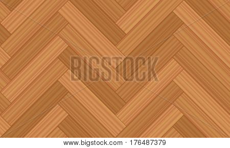 Herringbone parquet - vector illustration of geometric wooden floor pattern - seamless extensible in all directions.