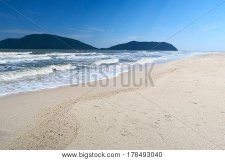 White sand beach Phraya Nakhon beach Thailand