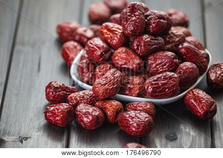 Chinese dates Exotic ingredient Food product .