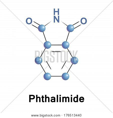 Phthalimide is used as a precursor to anthranilic acid, a precursor to azo dyes and saccharin. It is the imide derivative of phthalic anhydride.