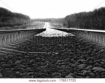 Railway route - the road connects people and cities, East and West, North and South