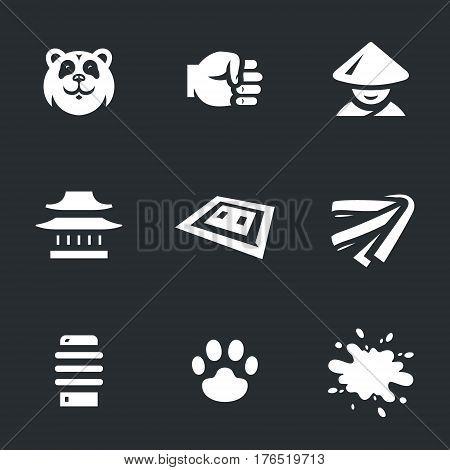 Panda, fist, monk, temple, tatami, belt, makiwara, paw, blood.
