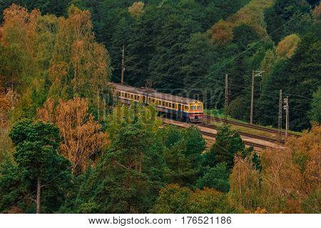 Passenger Electric Train