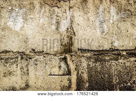 Concrete wall, old wall, stucco, bumpy wall, plastered wall background, wall texture