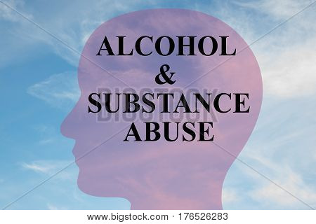Alcohol & Substance Abuse Concept