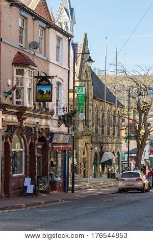 Llangollen Town North Wales