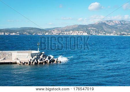 Stone Jetty Inlet