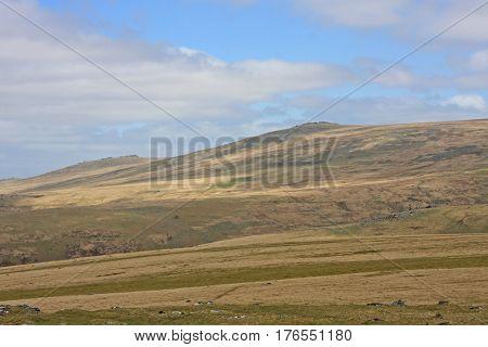 Wilds of Dartmoor from Sourton Tor, Devon
