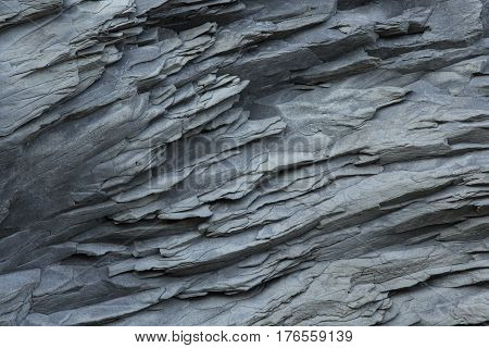 Basalt wall close up as background Reynisfjara Beach Iceland.