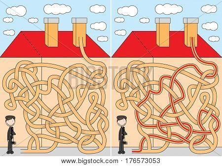 Chimney Sweeper Maze