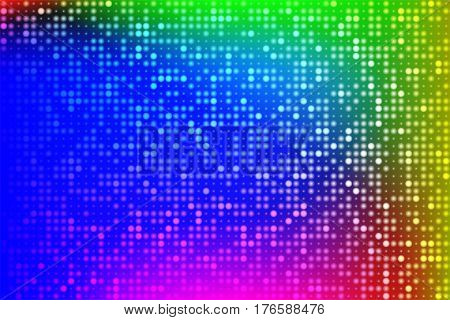 Abstract shining techno background. Shining holographic foil. Hipster card. Digital Wallpapers. Vector illustration.