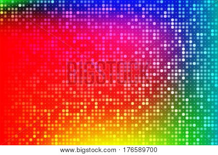 Abstract techno background. Shining holographic foil. Hipster card. Digital Wallpapers. Vector illustration