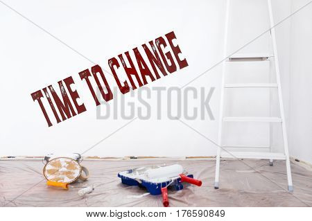 Time To Change, Improvement And Alteration At Home, English Text