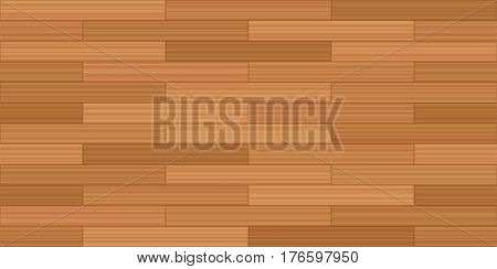 Brick bond parquet - vector illustration of a typical parquetry pattern - seamless extension of this wooden segment in all directions possible.