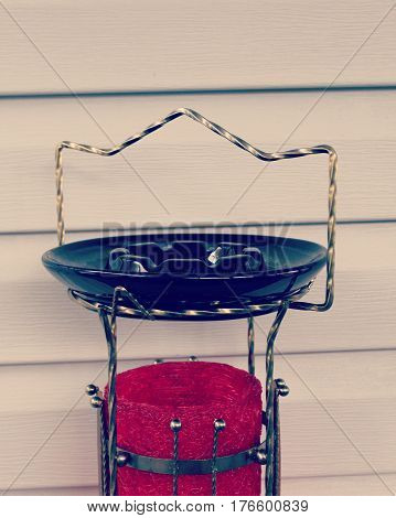 Vintage Ashtray And Stand