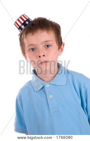 Boy In Party Hat