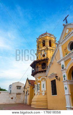 Santa Barbara Church In Mompox, Colombia