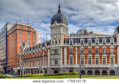 The Palacio del Senado is the headquarters of the Spanish upper house of Parliament Madrid