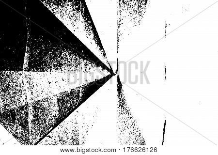 Isolated Grunge Paper Texture Background