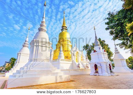 Chiang Mai, Thailand: Wat Suan Dok Chedis