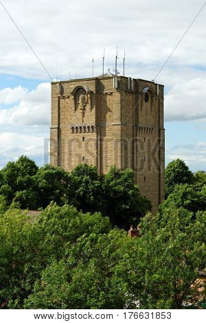 Westgate Water Tower In Lincoln England Built As A Result Of A Typhoid Epidemic In Lincoln That Star