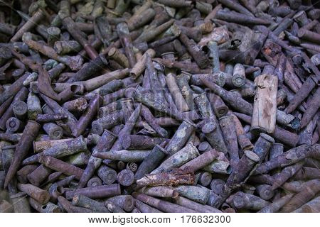 Old Rusty Bullet Ammunition