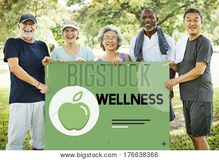 Organic Natural Healthy Nutrition Lifestyle