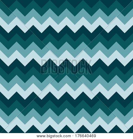 Chevron pattern seamless vector arrows geometric design colorful naval dark blue aqua marine nautical