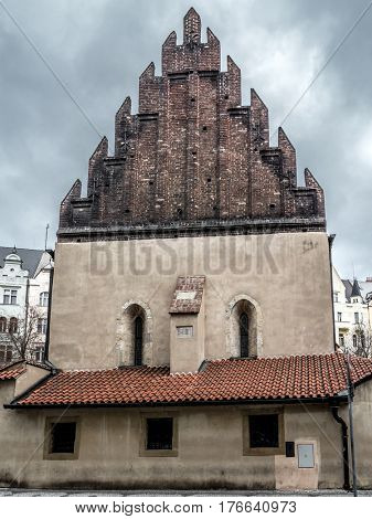 The Old-New Synagogue in Prague, Czech Republic