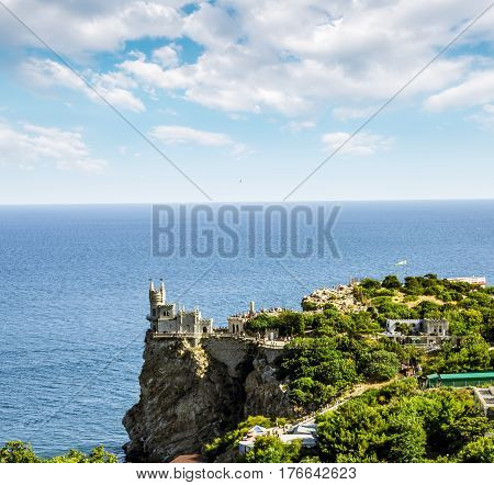Crimea.Ukraine.Aug 20 2011.Views of the architectural ensemble of the