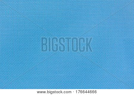 Navy blue flax fiber linen texture for the background. Fabric of natural raw material