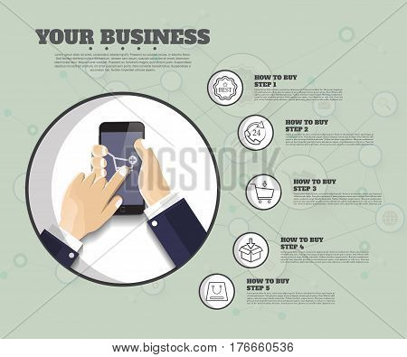 Startup Background. Beginning Of Business Ideas. Concept For Your Business. Starting Of Production.
