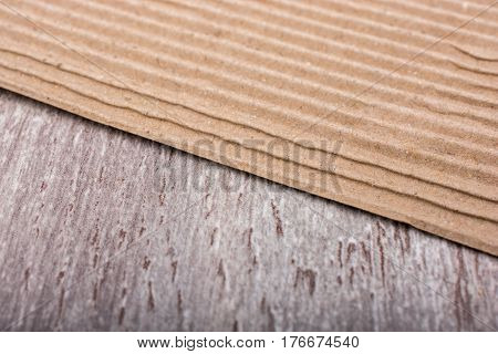 Corrugated Cardboard  Texture As Industrial Background
