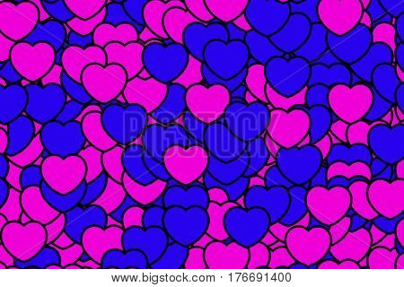 Romantic Backgrounds For Saint Valentine's Day, High Definition Decoration