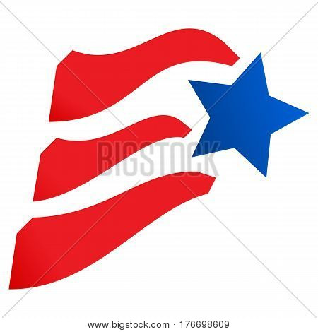 american independence day  flag july sign holiday star liberty