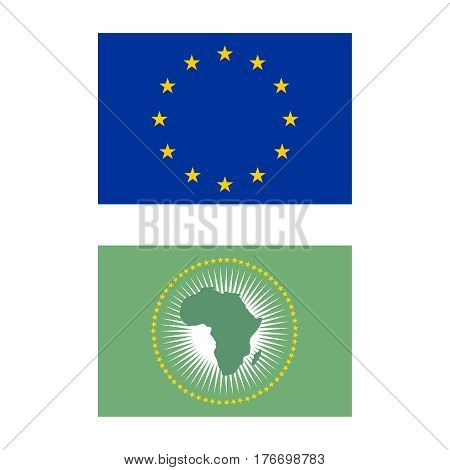 Flag Of The European Union, Flag Of The African Union
