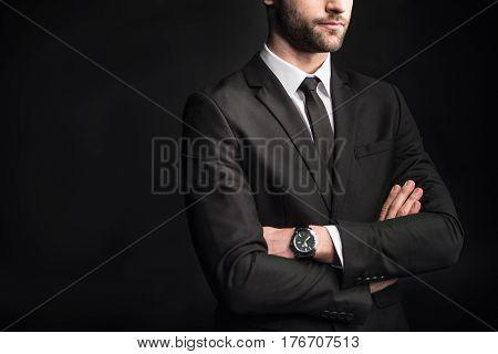 Young Confident Businessman