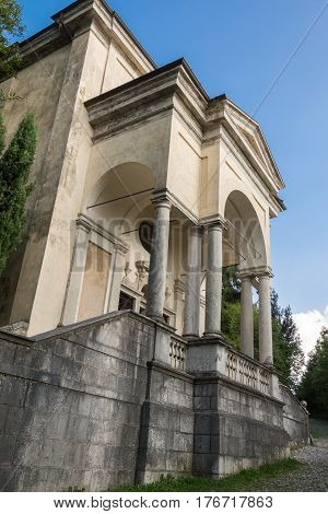 Eleventh Chapel At Sacro Monte Di Varese. Italy