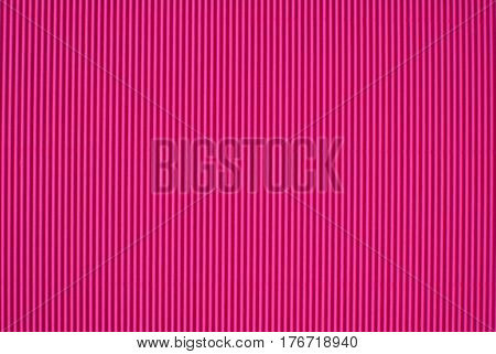 Pink Material With A Ribbed Surface