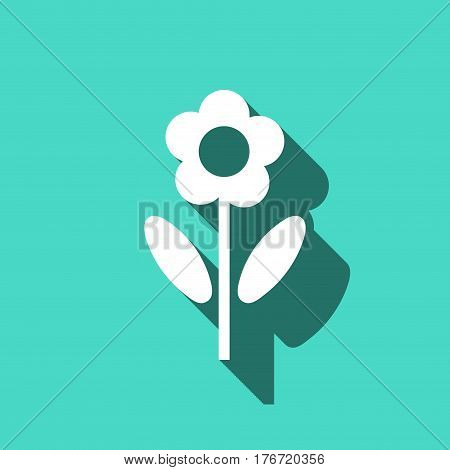 flower icon stock vector illustration flat design