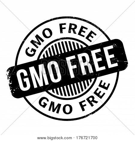 Gmo Free rubber stamp. Grunge design with dust scratches. Effects can be easily removed for a clean, crisp look. Color is easily changed.